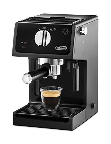 DeLonghi ECP 31.21 - Cafetera (Independiente, Semi-automática, Espresso machine, De café molido, Negro, Giratorio)
