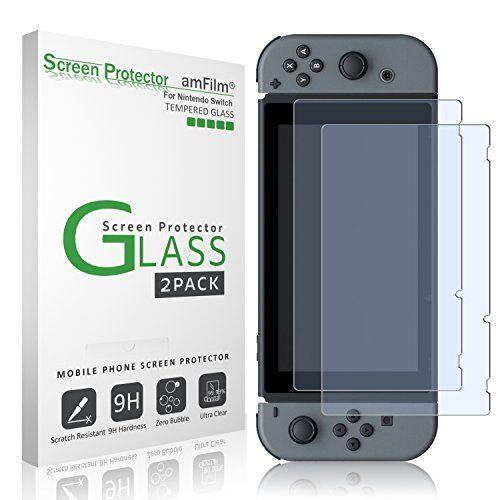 Nintendo Switch Protector de pantalla de cristal templado