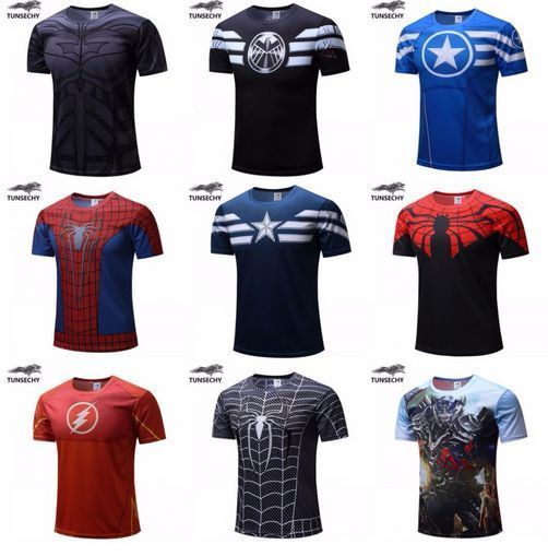 oferta camisetas superhéroes