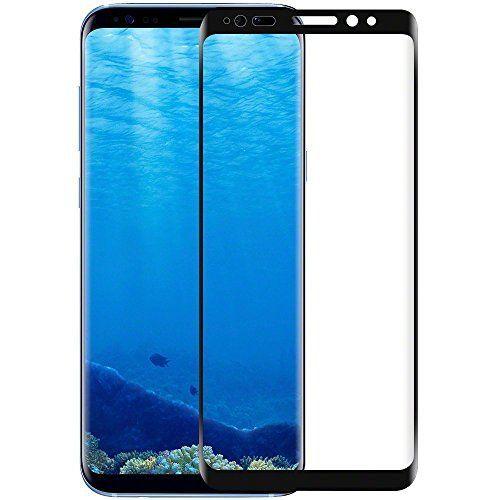 Protector de pantalla de vidrio templado para Samsung Galaxy S8Plus (Negro)