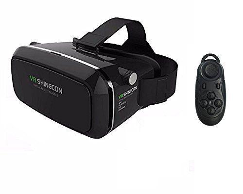 COOVOO VR Shinecon 3D Última Generación con mando a distancia