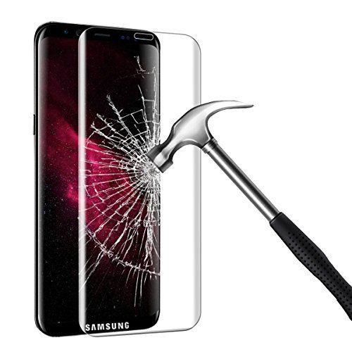 Bigmeda Protector de Pantalla Samsung Galaxy S8 Plus, Cristal Templado, tacto suave y 9H dureza
