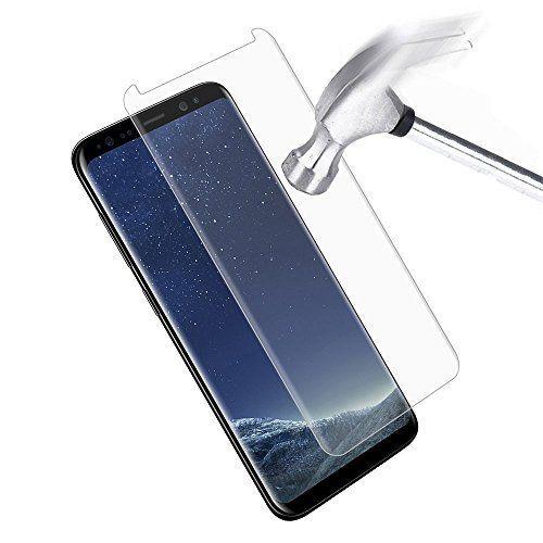 InShang 3D Screen protector de pantalla para Samsung Galaxy S8 (minimizado), [Vidrio templado] [sensación de toque de pantalla original] [Case friendly no cubierta completa] 9H + dureza, anti-rasca pequeño teléfono celular Screen Protector