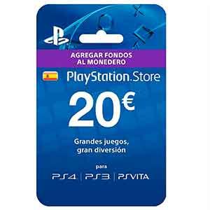 Tarjeta Prepago PSN de 20€ en eBay