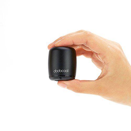 Mini altavoz Bluetooth de Dodocool - Negro