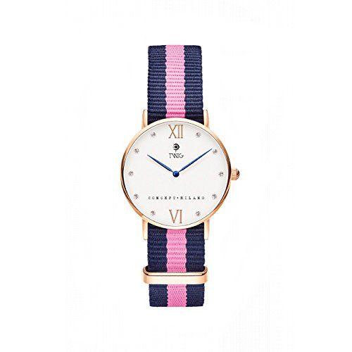 Reloj TWIG Kline Oro Rosa/Blanco Navy-Rosa