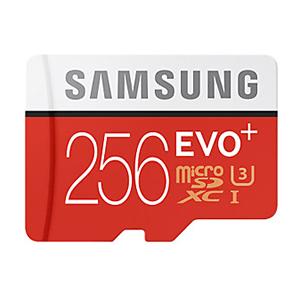 Tarjeta Micro SD Samsung EVO+ 256GB Clase 10 por 115€ + REGALO