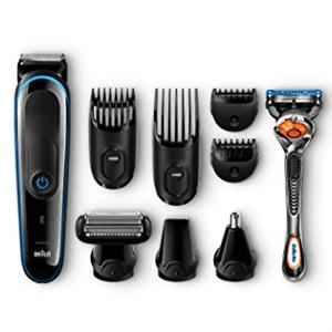 ¡Set de afeitado facial y corporal 9 en 1 Braun MGK 3080 sólo 39,50€!