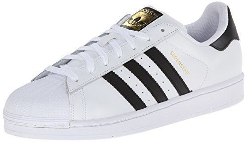 adidas Originals Superstar, Zapatillas para Hombre, Blanco (Ftwr White/Core Black/Ftwr White), 42 EU