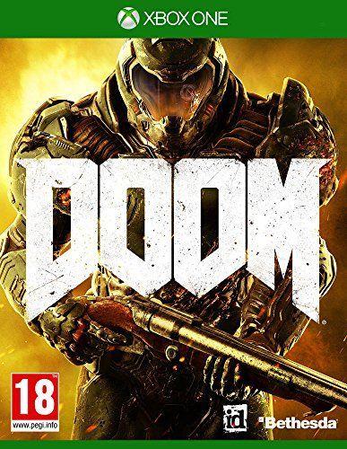 Bethesda DOOM, Xbox One Básico Xbox One Inglés vídeo - Juego (Xbox One, Xbox One, FPS (Disparos en primera persona), RP (Clasificación pendiente))