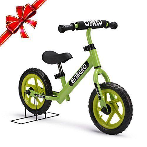Enkeeo - Bicicleta sin Pedales (Verde)