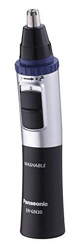 Panasonic ER-GN30-K - Cortapelos para nariz y orejas