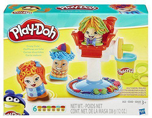 Play-Doh - Kit Peinados locos, 30 x 22 cm (Hasbro B1155)