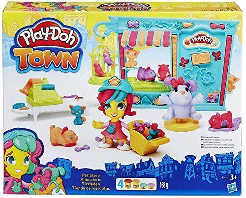 Play-Doh - Kit Tienda de mascotas (Hasbro B3418EU4)