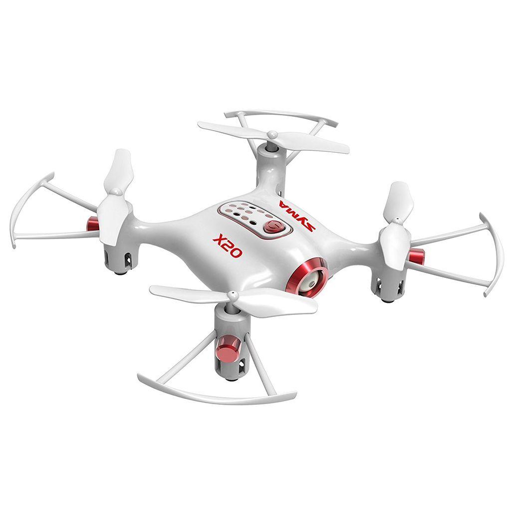 Syma X20 Mini RC dron de bolsillo con modo de suspensión en el aire
