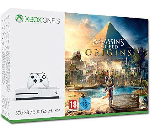 Xbox One S - Consola 500 GB + Assassin's Creed Origins