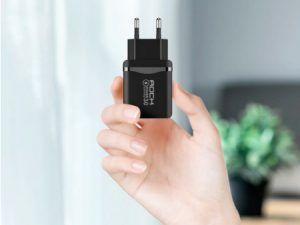 Cargador rápido USB 18W con QC 3.0