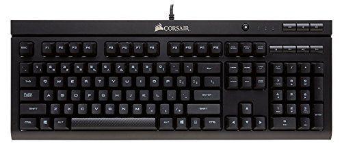 Corsair K66 - Teclado mecánico Gaming (Cherry MX Red, QWERTY Español), negro