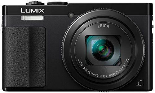 Panasonic Lumix DMC-TZ70EG-K - Cámara compacta de 12.1 Mp (zoom óptico 30x, estabilizador óptico, vídeo Full HD, WiFi), negro