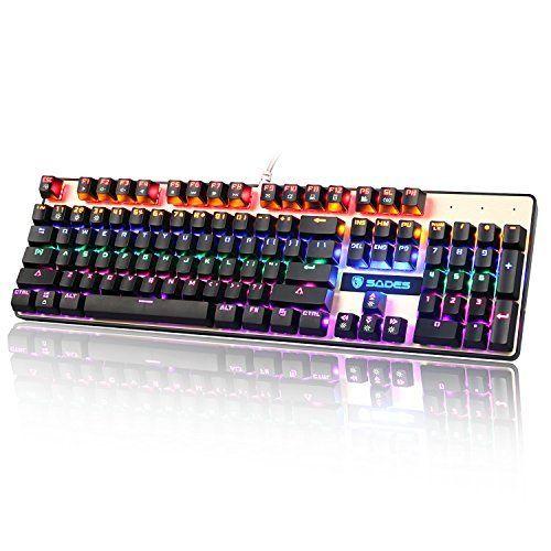 SADES K10 Teclado Mecánico Gaming