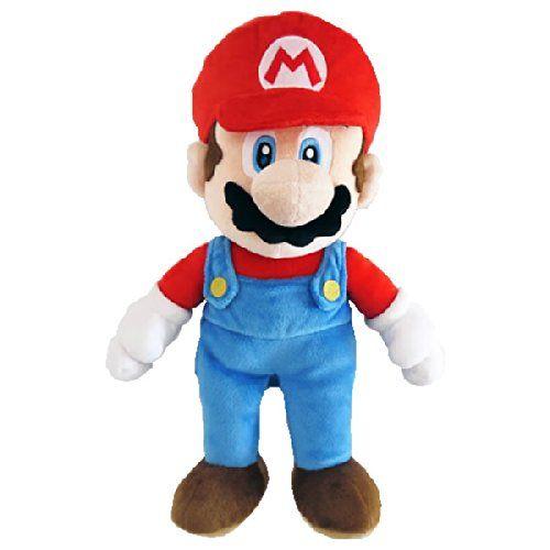 BG Games - Peluche Super Mario, 25 cm, multicolor (Together Plus 5016743103040)