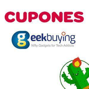 Cupones de descuento de Cyber Monday para Geekbuying