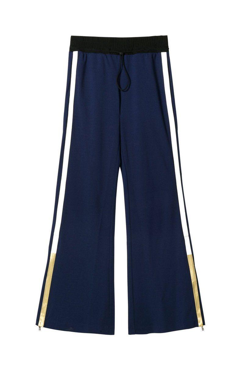 Desigual - Mujer - Leggings azules anchos - Beth - Beth - Size M