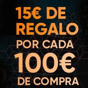 ¡Fnac te regala 15€ por cada 100€ de compra!