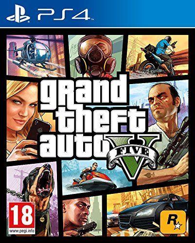 Grand Theft Auto V (GTA V) (PS4)