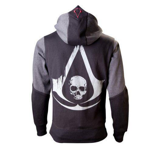 Import Europe - Sudadera Shadow Assassins Creed Iv: Black Flag T-M