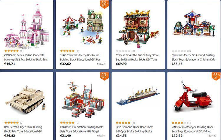 ofertas juegos de construcción