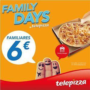 ¡Vuelven los Family Days de Telepizza!