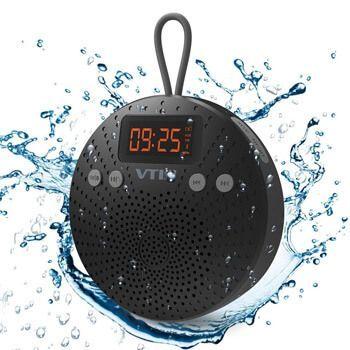Altavoz Bluetooth impermeable con radio FM VicTsing
