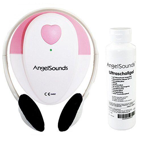 Angelsounds JPD-100S - Conjunto de doppler fetal (incluye gel de ultrasonidos)