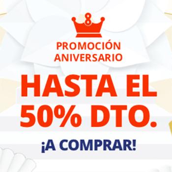 ¡Promoción aniversario en AliExpress!