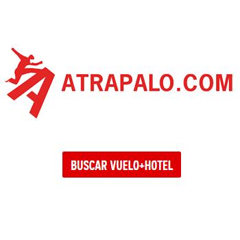 Cupón 25€ de descuento para vuelos y hoteles nacionales con Atrápalo
