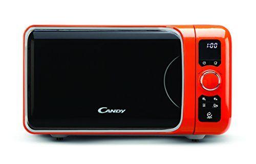 Candy Ego Creative - Microondas, 25 l, color naranja