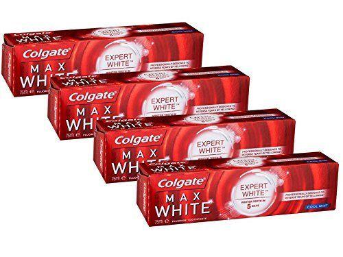 Colgate Max White Expert - Pack de 4 x 75 ml