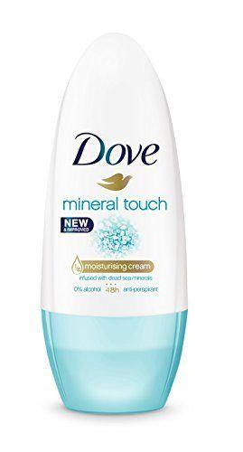 Dove Mineral Touch Desodorante Roll On 50 ml - [Pack de 6]
