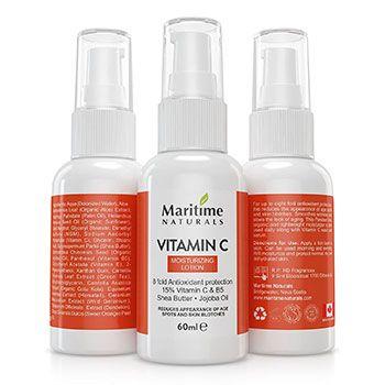 3 uds. de loción hidratante Vitamin C de Maritime Naturals, solo 8,99€