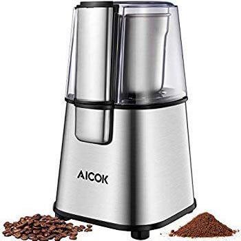 Molinillo eléctrico de café Aicok por 13,89€ con cupón