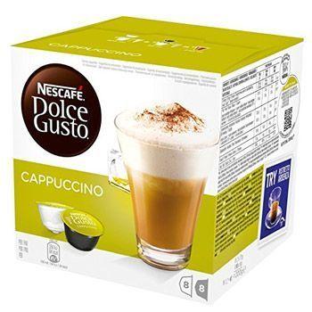 3 paquetes de 16 cápsulas de café cappuccino Nestlé Dolce Gusto por 9,41€