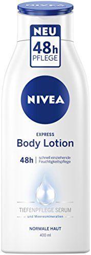 Nivea - Express, crema corporal hidratante, pack de 3 (3 x 400 ml)