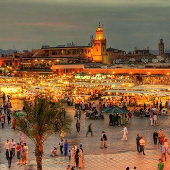 4 noches para 2 personas en Marrakesh con desayuno incluido