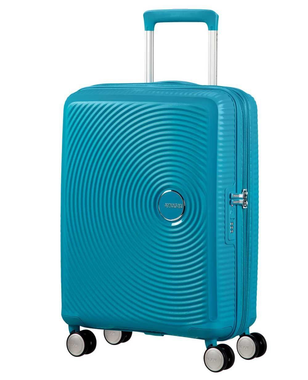 American Tourister Soundbox Trolley de mano Azul Pacífico