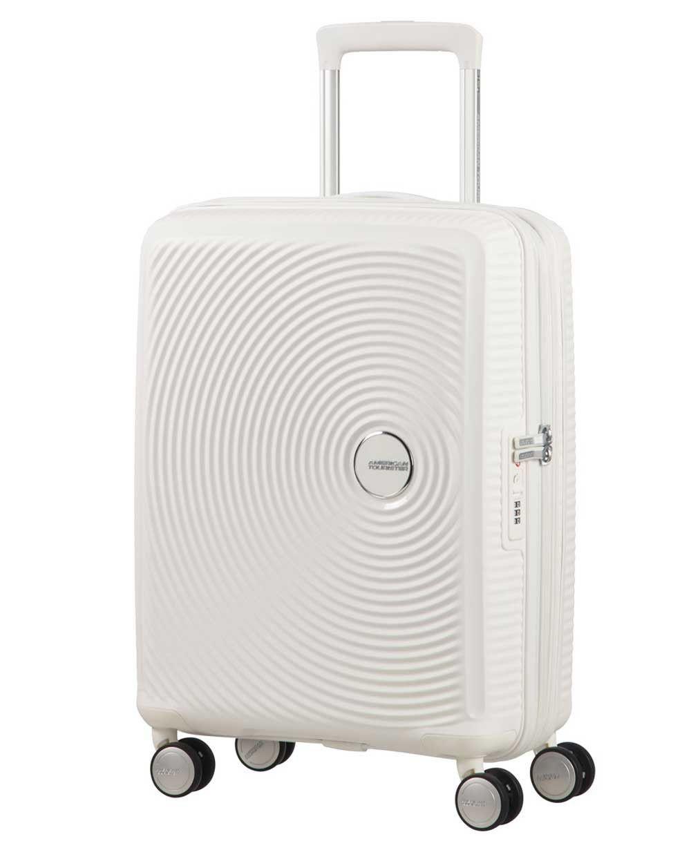 American Tourister Soundbox Trolley de mano Blanco