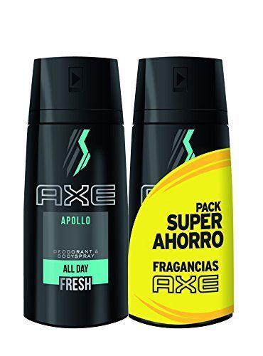 AXE Desodorante Apollo Duplo Ahorro - - 2 Paquetes de 2 x 150 ml: Total: 600 ml