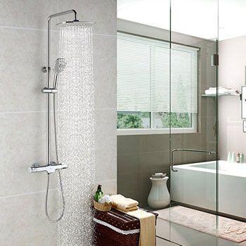 Columna de ducha termostática Homelody con descuentazo
