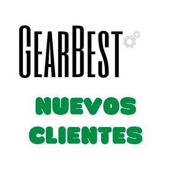 ¡Cupones descuento para nuevos clientes en Gearbest!