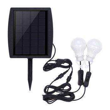 Lámpara de energía solar Anself para exteriores